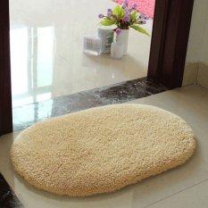 Anti Selip Halus Area Karpet Rumah Lantai Kamar Mandi Pintu Kamar Mandi Tikar 5warnd