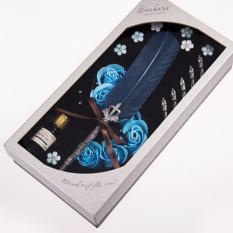 Harga Antik Bulu Alam Pena Celup Set Kaligrafi Inggris Carved Pen Hadiah Tahun Baru Hadiah Kado Ulang Tahun Hadiah Quill Pen Alat Tulis Hadiah Intl Merk Ileago