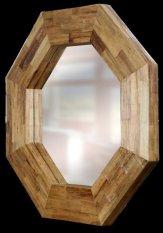 Spesifikasi Anya Living Kaca Cermin Gantung Hexagonal Terbaik