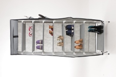 Jual Anya Living Rs 009 10T Shoe Rack Grey Lengkap