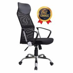 Ergonomic High Back Office Chair - Black Color. Free Delivery to Java and Bali