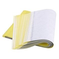Perkiraan. 50 Lembar Reusable Kertas Transfer TATTOO-Intl