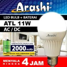 Harga Arashi Lampu Led Emergency Ac Dc Atl 11Watt Lengkap