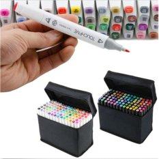 Harga Arsitektur 80 Warna Tip Ganda Art Sketch Penanda Mark Mark Dengan Carrying Case Untuk Lukisan Mewarnai Menyoroti Dan Menggarisbawahi Intl Termahal