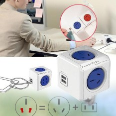 Arctic Land PowerCube Multiple Power Socket Travel Plugs Outlet Adapter Electrical Fittings - intl