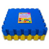 Dimana Beli Ari Jaya Karpet Puzzle Polos Biru Kuning Ari Jaya