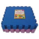 Spesifikasi Ari Jaya Karpet Puzzle Polos Biru Pink Yang Bagus Dan Murah