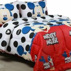 Arjuna Sprei Motif Anak Happy Mickey Mouse
