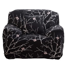 Art Spandex Stretch Slipcover Printed Sofa Furniture Cover (1 Seat)- intl