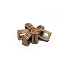 Artefak Trading Company Rotan 6-Piece Rectangle Serbet Ring Set, 2