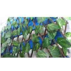 Artificial Leather - Daun Pagar By Flowersista.