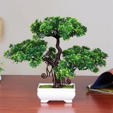 Buatan Pine Bonsai Creative Simulasi Tanaman Pohon Rumah Desktop Dekorasi -Internasional