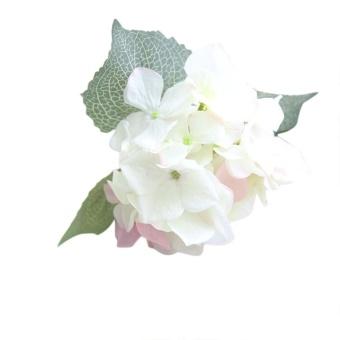 Bunga Palsu Sutra Buatan Hydrangea Floral Wedding Bouquet Party Decor B-Intl ..