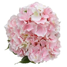 Harga Hemat Artificial Silk Hydrangea Bouquet Fake Flowers Home Wedding Decoration 1 Bunch Of 5 Flowers Light Pink Intl