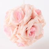 Spesifikasi Buket Bunga Imitasi Dari Satin Pink And Putih Oem