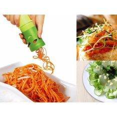Beli As Seen On Tv Veggie Twister Alat Untuk Membuat Garnish Pengupas Kulit Sayur Unik Kitchen Potato Fruit Veggie Shred Twister Cutter Spiral Slicer Peeler Garnish Alat Bantu Ibu Memasak Aksesoris Dapur Pengupas Sayuran Alat Serbaguna Online Terpercaya