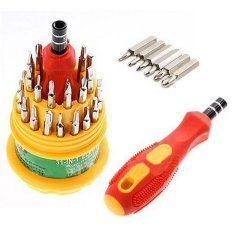 Askhev Obeng set multi 31 in 1 Screwdriver Handphone Elektronik Hp Laptop
