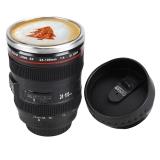 Beli Astar Cyber Baru 24 105Mm Lensa Kamera Desain Stainless Steel Anti Bocor Lid Coffee Tea Cup 450 Ml Termos Mug Hitam Intl Oem Dengan Harga Terjangkau