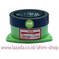 ATN Alarm Bell Buzzer Ø73mm–Bunyi Bel TET Multifungsi u/Bel Rumah, Sekolah, Pabrik dll - Grey Light Green