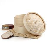 Diskon Audew 2 Tier 8 Kapal Uap Bambu Cina Dim Sum Keranjang Rice Pasta Cooker Set Dengan Tutup Oem Di Tiongkok