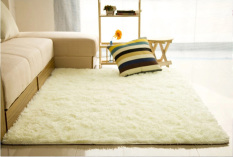 Jual Audew Ramus Antislip Karpet Tikar Karpet Penutup 80 Cm X 120 Cm Berwarna Krem Putih Oem