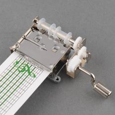 Toko Aukey Diy Hand Crank Mechanical Box Dengan Lubang Puncher 20 Catatan Kertas Hadiah Termurah Tiongkok