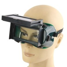 Beli Barang Auto Solar Gelap Lcd Pengelasan Kacamata Welding Masker Pengelasan Kacamata Helm Hijau Hitam Internasional Online