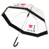Jual Transparansi Renda Wanita Gadis Payung Jenggot Rumah Yang Elegan Dan Roda Gigi Luar Ruangan Kreatif Hujan I Like Hujan