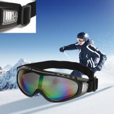 Autoleader Kacamata Motor Kacamata Ski Snowboard Debu Lensa Mata Warna Kacamata