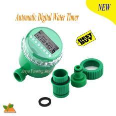 Automatic Digital Irrigation Water Timer / Stop Kran Air Otomatis