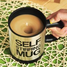Review Automatic Self Steering Coffee Cup Atau Gelas Pengaduk Otomatis Terbaru