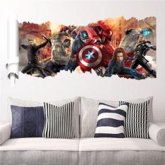 Jual Beli Avengers Age Of Ultron Movie Wall Sticker Dekorasi Kamar Tidur Anak Adesivo De Paredes Diy Cetak Mural Art Home Decal Poster Intl