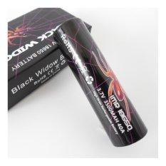 Awt Baterai Black Widow IMR 18650 3500MAH 40A 3.7 V High Quality - Black