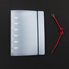 Harga B5 Matte Setengah Transparan Pp Tali Notepad Dan Spesifikasinya