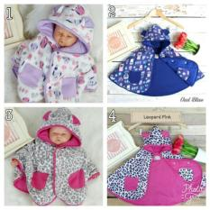 Baby cape cuddle me / jubah / selimut bayi / jaket bayi/ jaket anak