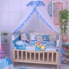 Harga Baby Infant Nursery Mosquito Bedding Crib Canopy Net Hanging B*b* Dome Summer Murah