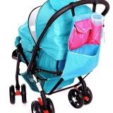 Spesifikasi Baby Stroller Kursi Dorong Pram Keranjang Mainan Popok Net Mesh Storage Pouch Intl