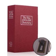 Harga Baffect 18 12 6 Cm Buku Brankas Penyimpanan Kotak Piggy Bank Hitam Intl Baru