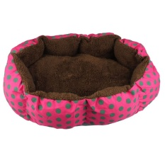 Cuci Gudang Bahan Katun Soft Kapas Dilepas Pet Anak Anjing Kucing Hangat Tempat Tidur Rumah Mewah Rumah Nyaman Sarang Tikar Bantalan For Aksesoris Kandang Anjing Naik Merah Hijau