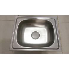 Bak Cuci Piring Stainless Steel 1 Lubang + Afur / Kitchen Sink - Jmd9xp