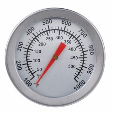 Beli Bakeware F C 5 08 Cm Stainles2Pcs Panggangan Bbq Pit Baja Perokok Termometer Bimetal Alat Pengukur With Pengukur Ganda Suhu 500 Derajat Alat Memasak Intl Oem Online