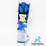 Cara Beli Balonasia Flower Soap Bunga Sabun Mawar Kado Valentine Buket Bunga 3 Mawar Boneka