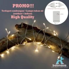 PROMO!!!! Balonasia Lampu Dekorasi, dengan sambungan Tumblr 1x10 M 80 LED