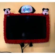 Bando / Bandana Aksesoris TV LED Karakter Mickey Mouse