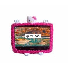 Hello Kitty Karakter 42 Inch Boneka Bando TV LCD
