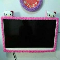 Bando TV MOTIF HELLO KITTY Bahan Halus Berkulitas