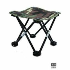 Bangku Mini / Kursi Lipat Mancing Kotak Desain Army
