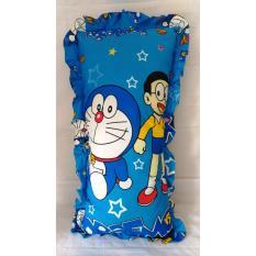 Bantal Cinta Silicon 100 Karakter Motif Doraemon Asli