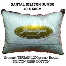 Beli Bantal Tidur Silikon Jumbo Level Hotel Premium Gold Dacron Super Padat Jesselyne 1 2Kg Jesselyn Asli