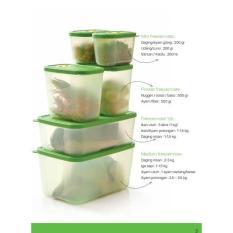 Baru - Freshmint Collection Tupperware (Kotak/Tempat Makanan Untuk Di Freezer - Fourtyshops